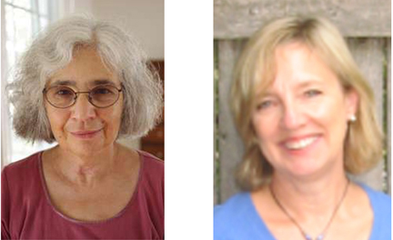 Alice Mattison, left, and Sandi Kahn Shelton, right