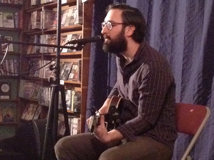 Paul Belbusti at Best Video in January, 2014