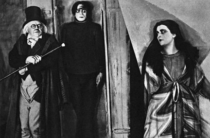 "Still from ""The Cabinet of Dr. Caligari"""